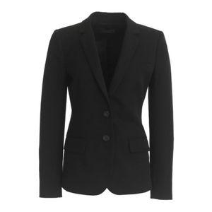 JCREW Black Thompson Blazer Two Way Stretch Cotton
